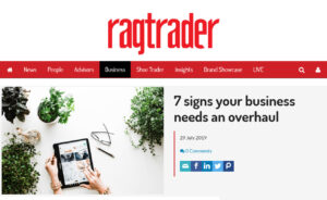 signs your business needs an overhaul