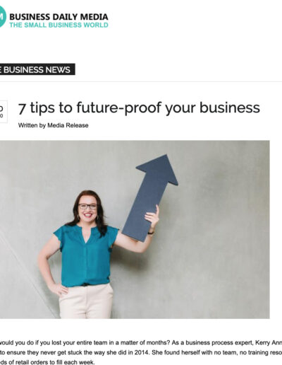 how to document business processes